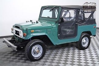 1972 Toyota Land Cruiser RARE 2 OWNER LOW MILE FJ40!!
