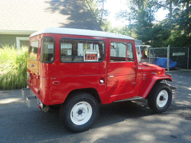 1972 toyota fj40 land cruiser rust free survivor for sale