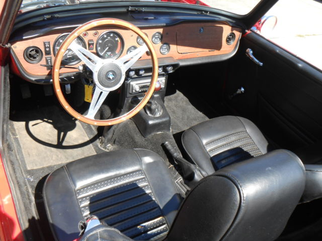 1972 TRIUMPH TR6 RESTORED WITH MOSS SUPERCHARGER ,BEAUTIFUL CLASSIC