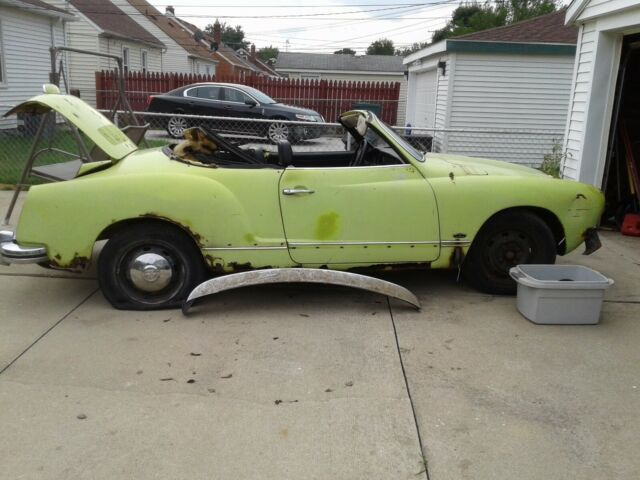 1972 Volkswagen Karmann Ghia None