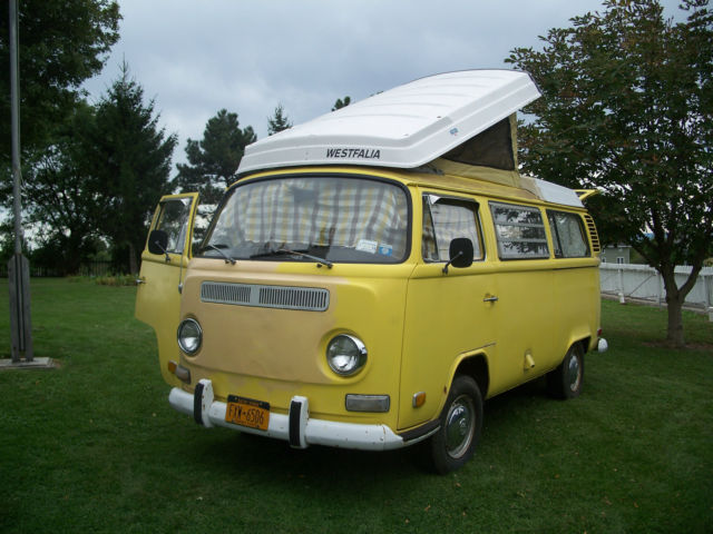1972 Volkswagen Westfalia Camper Bus for sale: photos, technical specifications, description