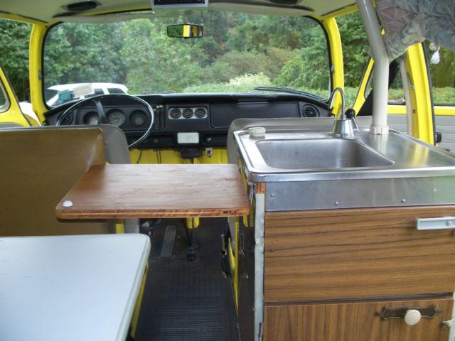 1972 Volkswagen Westfalia Camper Bus For Sale Photos