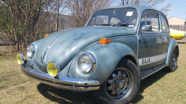 vw beetle baja champion special edition     sale  technical