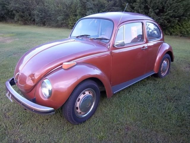 1972 vw super beetle for parts or restoration runs drives clear title for sale photos. Black Bedroom Furniture Sets. Home Design Ideas