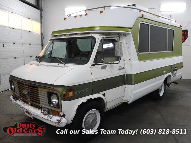 1972 Chevrolet Chinook 18 Plus Runs Drive Nice Inter Needs Minor Work Complete