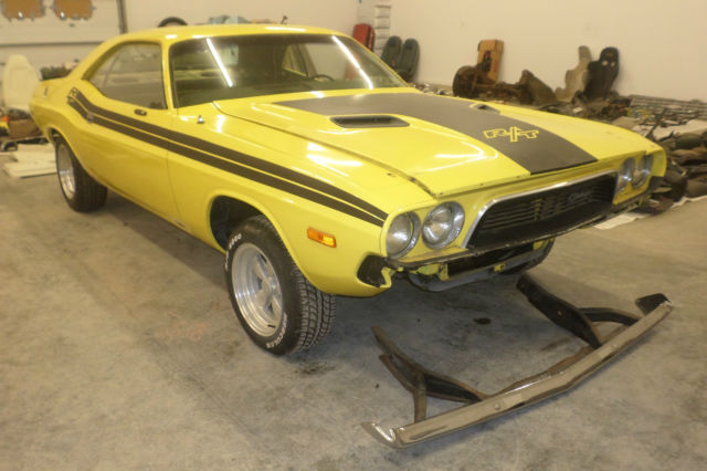 1973 73 Dodge Challenger Project Car For Sale Photos Technical