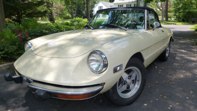 1973 Alfa Romeo Spider for sale photos technical specifications