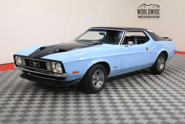1973 Ford Mustang COUPE 302 V8 WITH 3-SPEED MANUAL PS PB