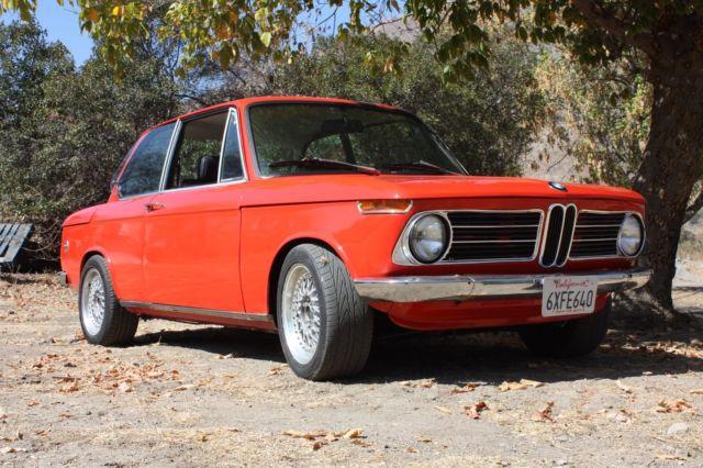 1973 bmw 2002 m2 with e30 m3 s14 engine for sale photos technical specifications description - Conversion ca en m2 ...