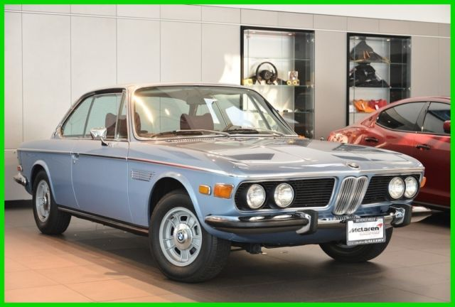 1973 BMW 3.0 CS Automatic Coupe