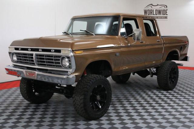1973 Ford F-250 RANGER CREWCAB HIGHBOY 4X4 RESTORED RARE