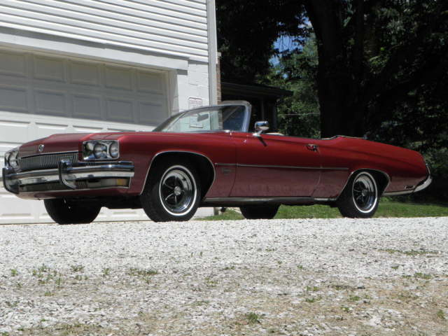 1973 Buick CENTURION 455 CONVERTIBLE NO RESERVE