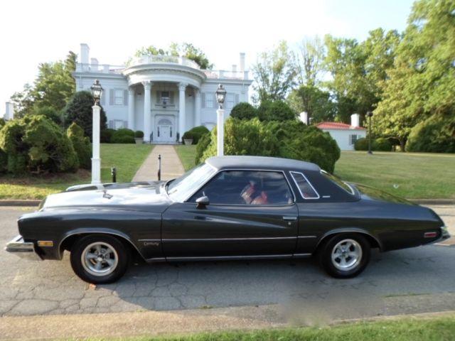 1973 buick century luxus coupe 2-door 5.7l 350ci automatic vinyl