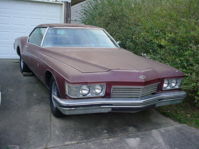 1973 Buick Riviera Base Hardtop 2-Door
