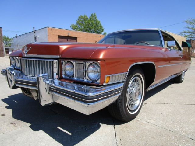 1973 Cadillac DeVille NO RESERVE AUCTION - LAST HIGHEST BIDDER WINS CAR!
