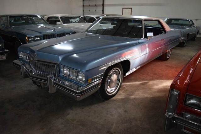1973 Cadillac DeVille Leather