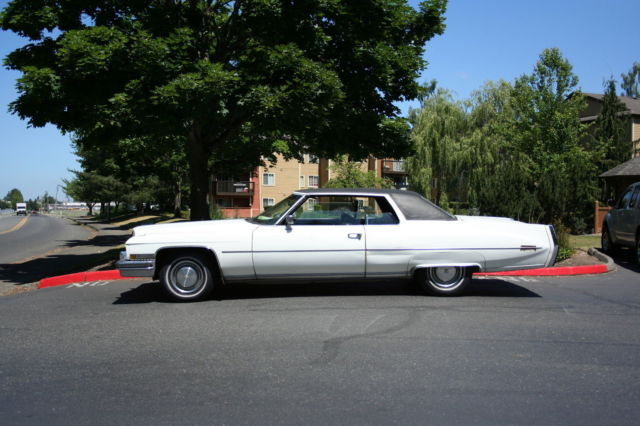 1973 Cadillac DeVille Coupe