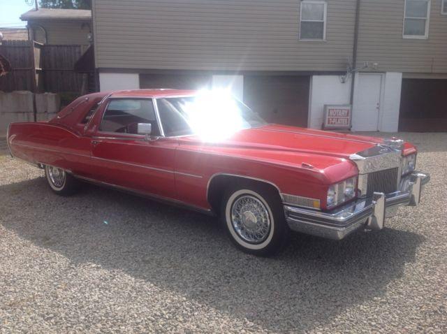 d8ebe831588 1973 Cadillac El Clasico for sale  photos