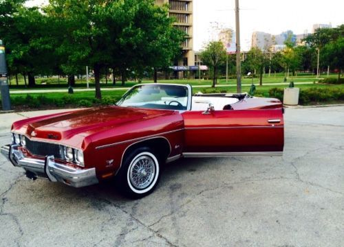 1973 caprice convertible for sale photos technical specifications description. Black Bedroom Furniture Sets. Home Design Ideas
