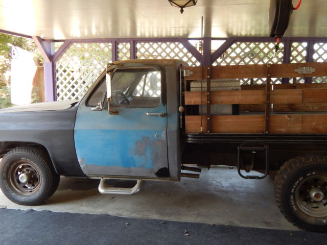 1973 Chevrolet C20 STAKE FLATBED C20