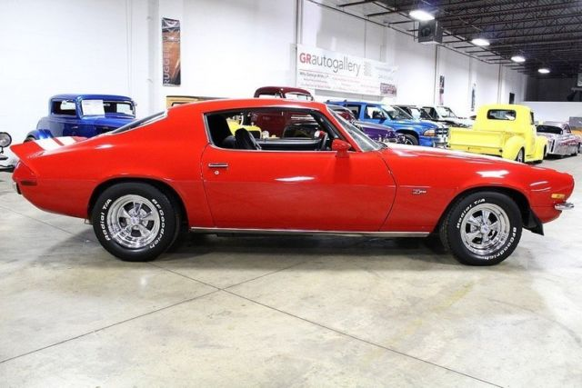 1973 Red Chevrolet Camaro Coupe with Black interior