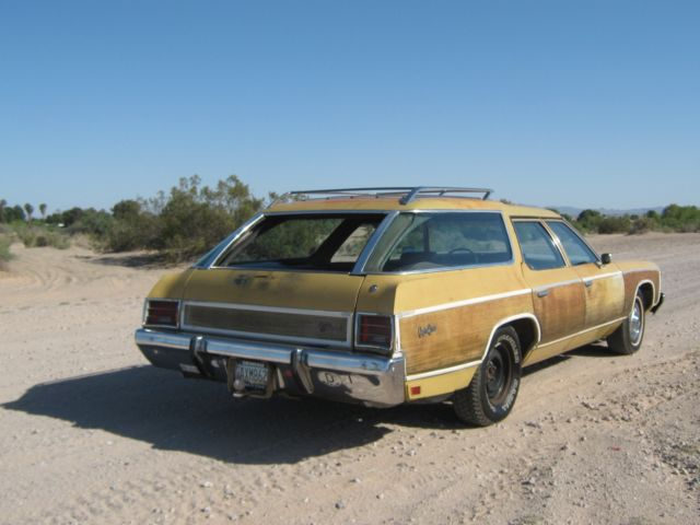 1973 Chevrolet Caprice Estate Wagon for sale: photos