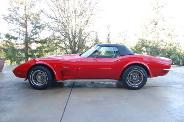 1973 Chevrolet Corvette Roadster