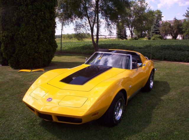 1973 Chevrolet Corvette Rally Sport Accessories