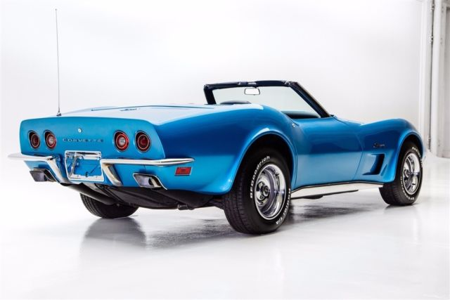 1973 Chevrolet Corvette Blue Big Bock 454 PS PB
