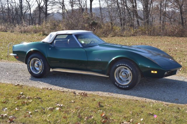 1973 Chevrolet Corvette Convertible with Hard Top