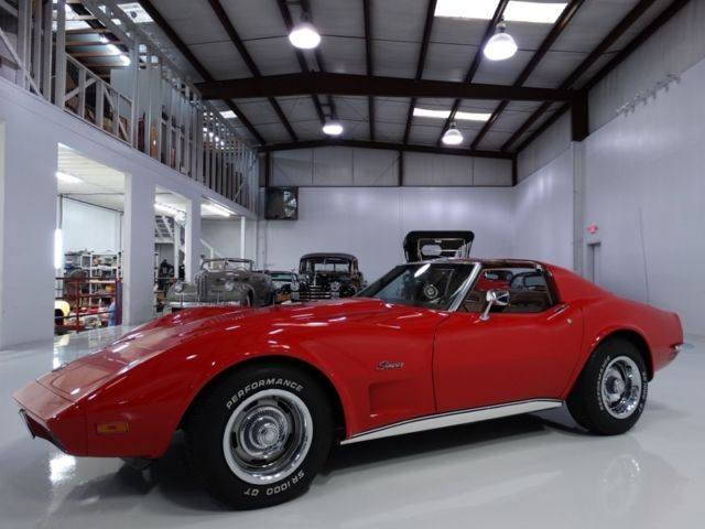 1973 Chevrolet Corvette MATCHING NUMBERS 350 ENGINE!