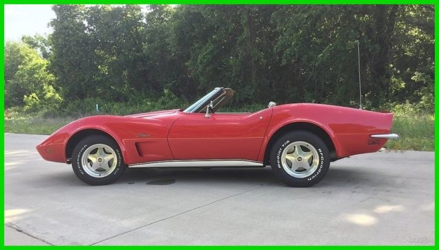 1973 Chevrolet Corvette Stingray Numbers Matching Convertible