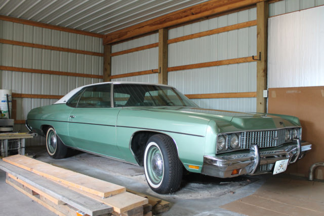 1973 chevrolet impala custom coupe for sale photos technical specifications description. Black Bedroom Furniture Sets. Home Design Ideas