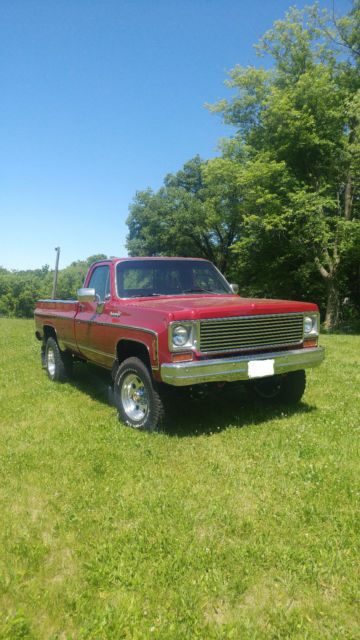 1973 chevy 3/4 ton 4x4 for sale: photos, technical specifications