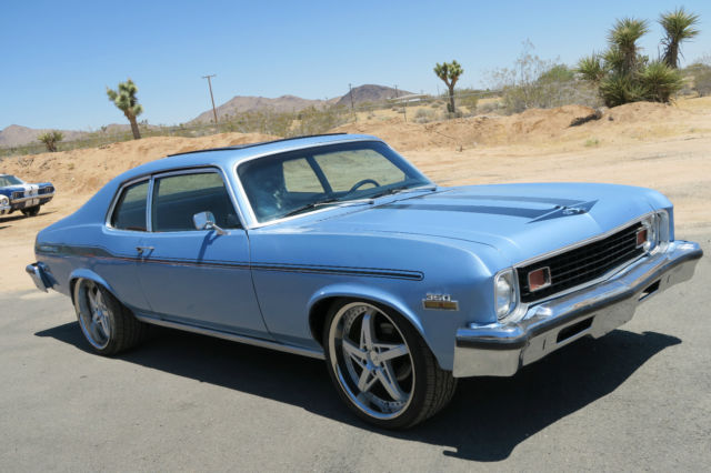 1973 Chevrolet Nova 350 CALIFORNIA CAR, CUSTOM INTERIOR AND WHEELS !