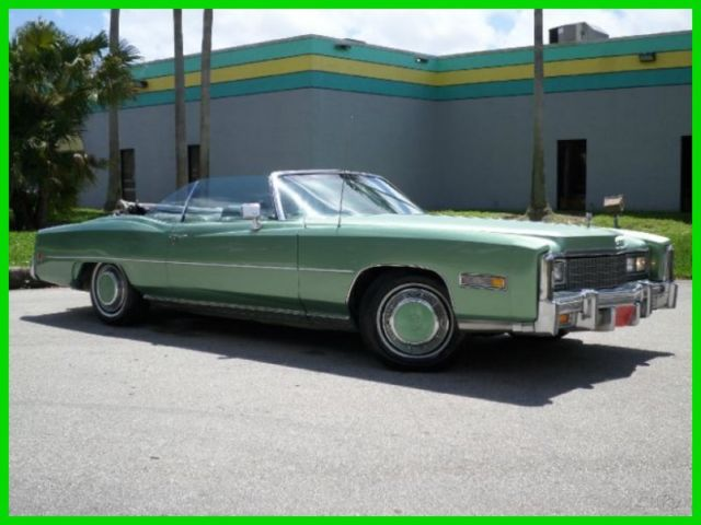 1973 Cadillac Eldorado CONVERTIBLE AUTOMATIC WITH CONTINENTAL TIRE KIT