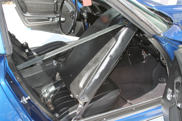 1973 corvette stingray coupe blue stick shift beautiful for sale photos technical. Black Bedroom Furniture Sets. Home Design Ideas