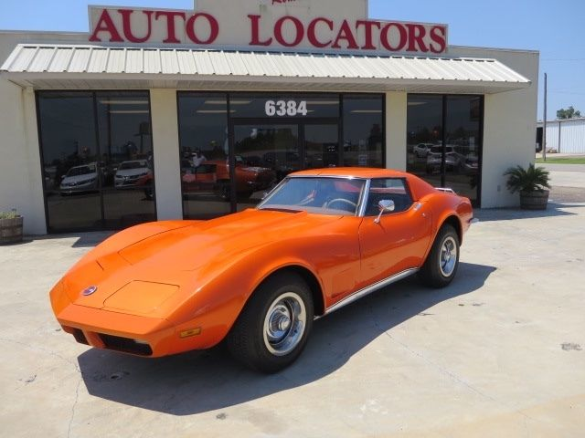 1973 Chevrolet Corvette L82 W/T-Tops #match