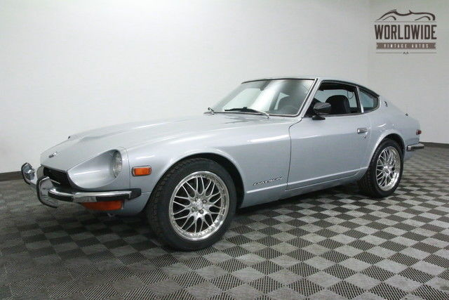 1973 Datsun 240Z SILVER. GORGEOUS. AFTERMARKET WHEELS!