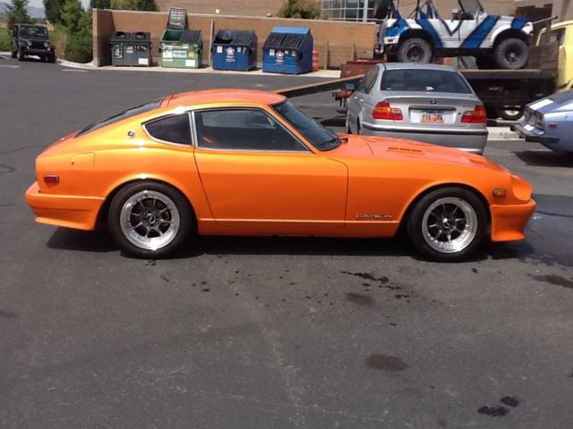 1973 datsun 240z v8 for sale photos technical specifications description. Black Bedroom Furniture Sets. Home Design Ideas