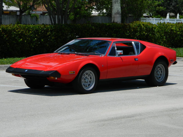 1973 De Tomaso Other 1973 NUMBERS MATCHING PANTERA