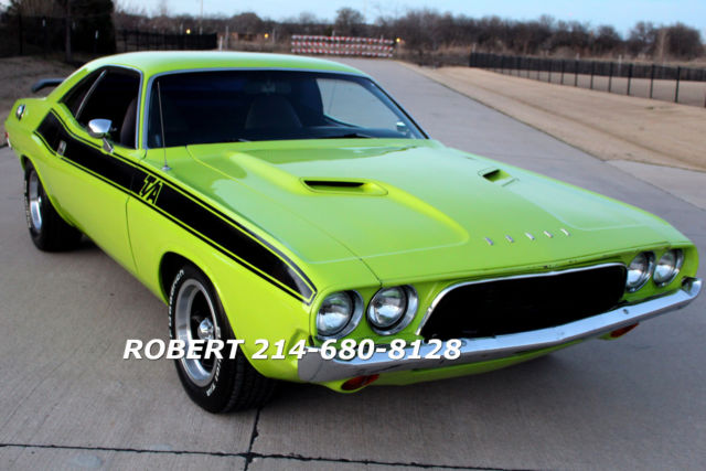 1973 Dodge Challenger Ta Rt Ralley 340 1969 1970 1971 1972