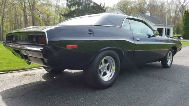1973 Dodge Challenger with a 1970 440 motorThis Hot Rod