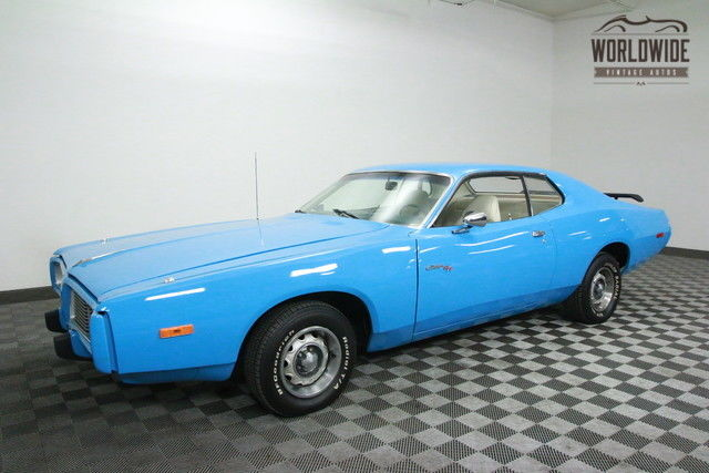 1973 Dodge Charger 340 V8. AUTO. SUPERBIRD BLUE!