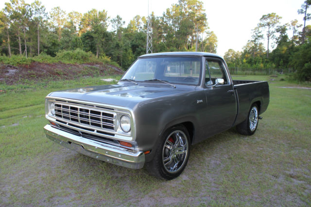 1973 Dodge Other Pickups SweptLine D-100 Pickup Mopar 318 Must See