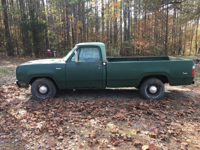 1973 Dodge Other Pickups D100