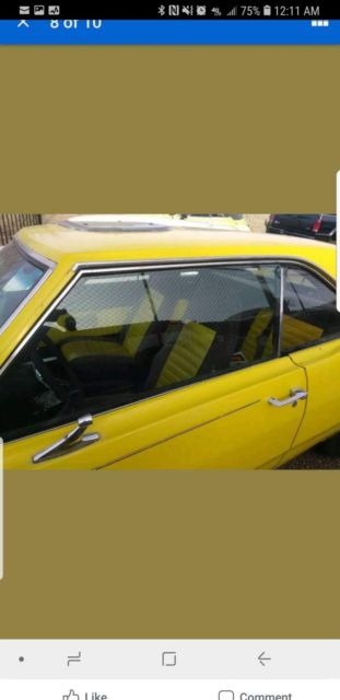 1973 YELLOW Dodge Dart Coupe
