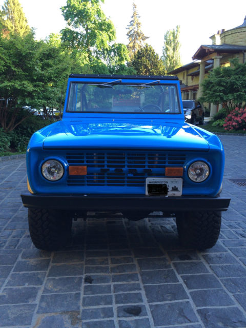 1973 Ford Bronco 2 Door