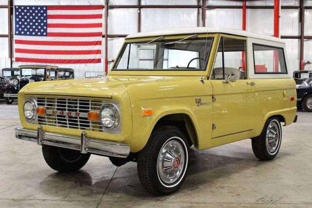 1973 Ford Bronco --