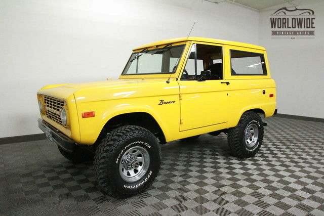 1973 Ford Bronco RANGER. UNCUT! PS. PB. CONVERTIBLE!